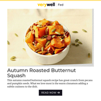 Recipe: Autumn Roasted Butternut Squash (5 Stars!)