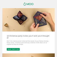 10 Christmas party invites you'll wish you'd thought of | Packaging inspiration