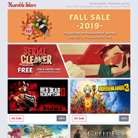 Get a FREE copy of Serial Cleaner + thousands of games up to 90% off in our Fall Sale!