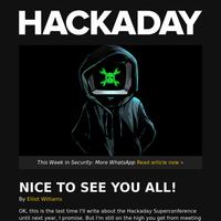 Hackaday Newsletter 0xC6