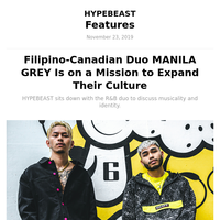 Filipino-Canadian Duo MANILA GREY Is on a Mission to Expand Their Culture