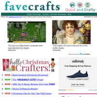 31 Recycled Christmas Crafts