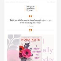 Hoda Kotb Shares Her Inspiration