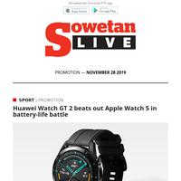 PROMOTION | Gift idea: Huawei GT 2 or Apple Watch 5?