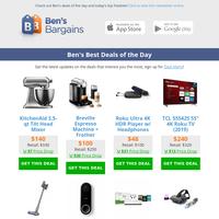 Ben's Best Deals: Thanksgiving Giveaways - $115 Xbox One - $240 TCL 55\