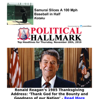 A complete review of Ronald Reagan's 1985 Thanksgiving Address