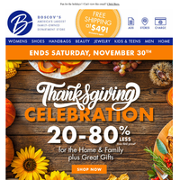 Still hungry from Thanksgiving? Fill up on these deals!
