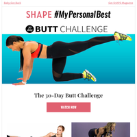 A Booty Workout to Get Back On Track After Thanksgiving