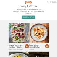 Genius Thanksgiving leftover recipes 💡