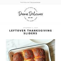 Leftover Thanksgiving Sliders