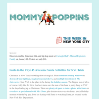 Santa in the City: 45 Awesome Santa Activities for NYC Kids