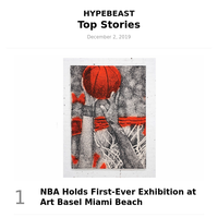 NBA Holds First-Ever Exhibition at Art Basel Miami Beach