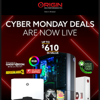 Missed Black Friday? Cyber Monday Deals ARE HERE 👾