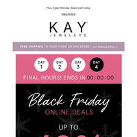 It's a Wrap! LAST DAY for Black Friday Savings