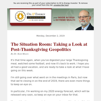 The Situation Room: Taking a Look at Post-Thanksgiving Geopolitics