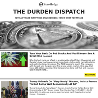 ZeroHedge: The Durden Dispatch