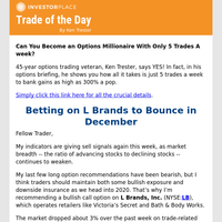 Trade of the Day: Betting on L Brands to Bounce in December