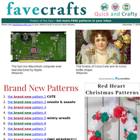 20 Red Heart Christmas Patterns