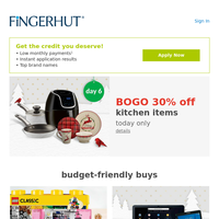 Fingerhut: 🎅 Santa wanted you to have this.