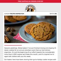 Sunday Recipe Inspiration: Holiday cookie favorites
