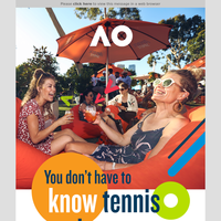 Tennis Newsletters Email Campaigns Marketing Emails Email