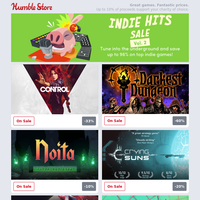 Up to 96% off hundreds of indie games + Up to 75% off Planet Coaster, Elite Dangerous, and more!