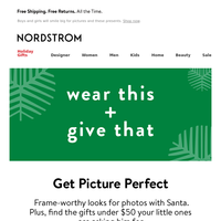 OOTD: pictures with Santa + toy shop gifts under $50