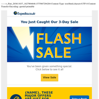 Approved: You've been sent discounts (FLASH SALE »)