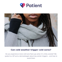 This is why cold weather triggers cold sores