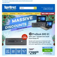 Winter Savings | HP ProDesk 600 Only $299