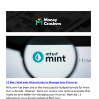 Mint.com Alternatives -- Selling Your House in the Winter -- Choosing 401(k) Investments