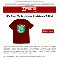 It's Okay to Say Merry Christmas