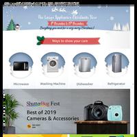 Amazon - Christmas Store - Large Appliances for this Xmas | ShutterBug Fest 2019