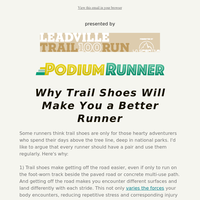 How Trail Shoes Can Help Injury-Proof Your Running