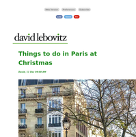 Things to do in Paris at Christmas
