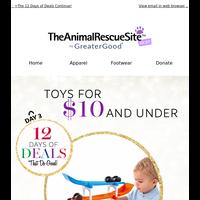 80% Off Toys + Dog Lover's Gift Guide Inside