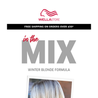 In the Mix | ❄️Winter Blonde Formula❄️