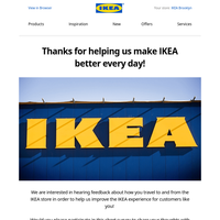 Be part of IKEA Research and you could win a $100 IKEA gift card!