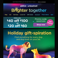 Up your gift game - $40 off $100