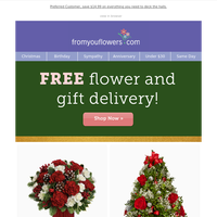Spread Holiday Cheer - FREE Delivery ($14.99 savings)