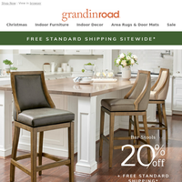 FREE Ship–up to 60% Off Christmas–20% Off Stools