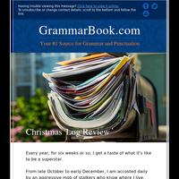 Christmas 'Log Review