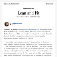 Lean and Fit: Inspiration, essential oils and online dating