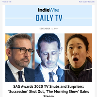 SAG Awards TV Wrap: 'Morning Show' Gains Momentum; Sundance 2020 TV; Holiday Gift Guide
