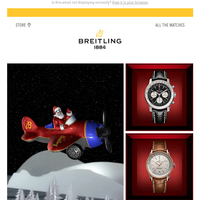 Breitling Santa on a Mission