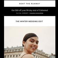 Introducing: Winter wedding must-wears