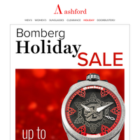 Give the gift of BOMBERG