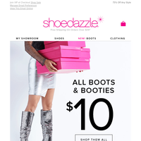 << IMPORTANT Information >> Want Boots? Get Them For $10