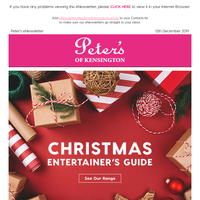 Peter's Christmas Entertainers Guide