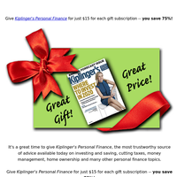 Today - great gift, great price
